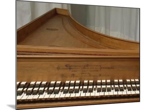 Harpsichord--Mounted Giclee Print