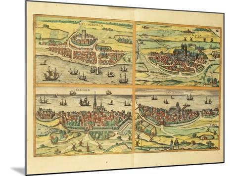 Helsingborg--Mounted Giclee Print
