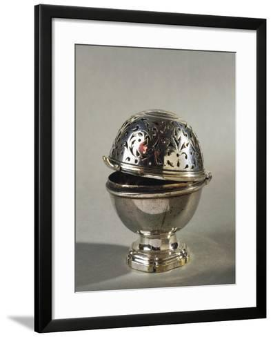 Pair of Sponge Holders--Framed Art Print