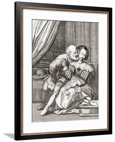 The Old Prurient--Framed Art Print