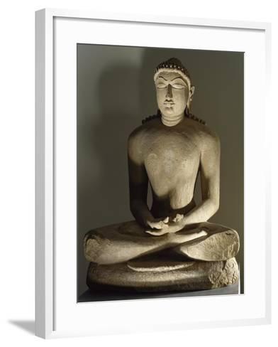 Tirthankara Risabhanatha--Framed Art Print