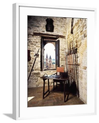 Glimpse of Armory--Framed Art Print