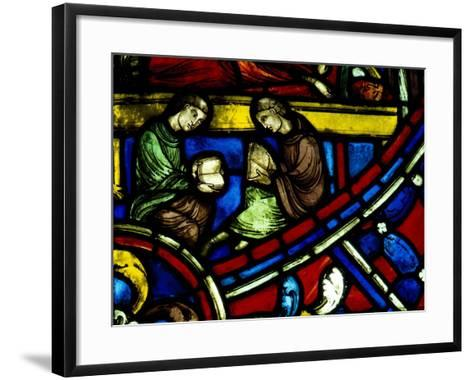 Two Readers--Framed Art Print