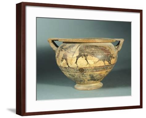 Krater by the Painter of Rosettes--Framed Art Print