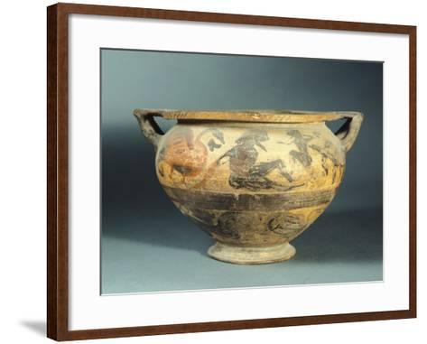 Krater by the Painter of Rosettes--Framed Art Print