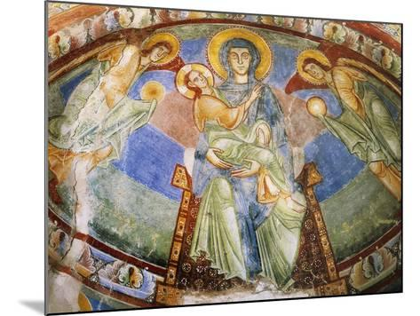 Madonna and Child with Angels and Saints--Mounted Giclee Print