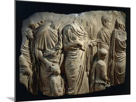 Fragment of Ara Pacis Augustae--Mounted Giclee Print