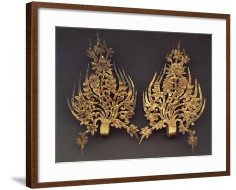 Gold Ornaments for Queen's Crown--Framed Art Print