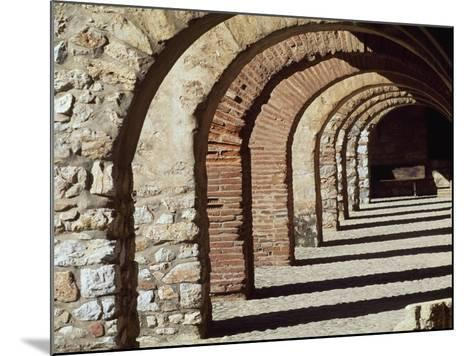 Porticos Along Parade Ground--Mounted Giclee Print