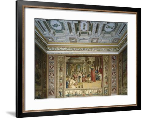 Saint Paul Preaching in Athens--Framed Art Print