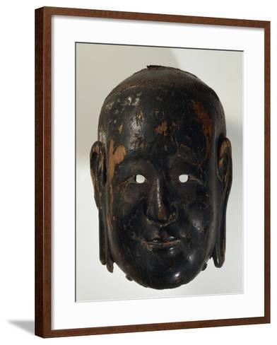 Gigaku Mask of Shishiko or Goko--Framed Art Print