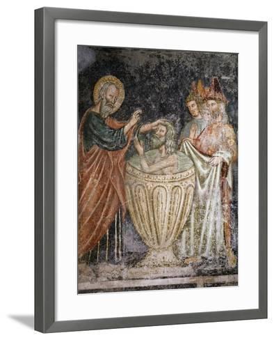 Episode from Life of Saint John Evangelist--Framed Art Print