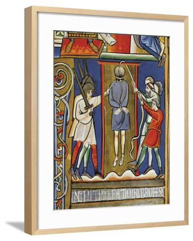 Stories of Esther: the Hanging of Haman--Framed Art Print