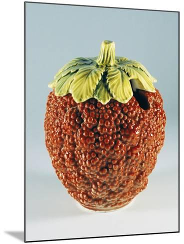 Jam Container in Shape of Raspberry--Mounted Giclee Print
