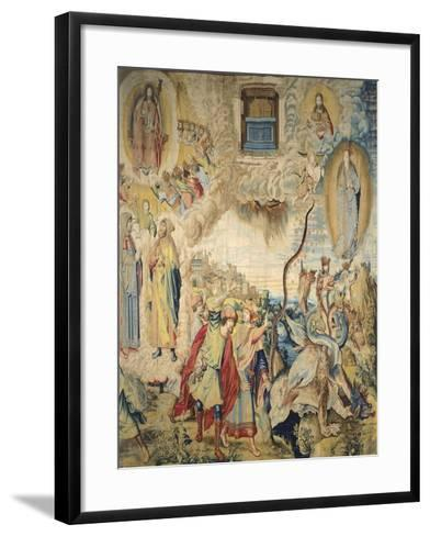 Saint John Is Commanded to Measure the Temple--Framed Art Print