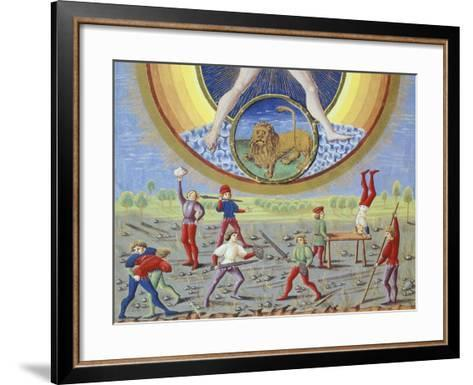 The Sun and Different Physical and Sporting Endeavours--Framed Art Print
