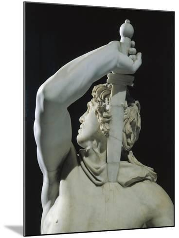 Marble Sculptural Group known as Galatian Suicide or Ludovisi Gaul Killing Himself and His Wife--Mounted Giclee Print