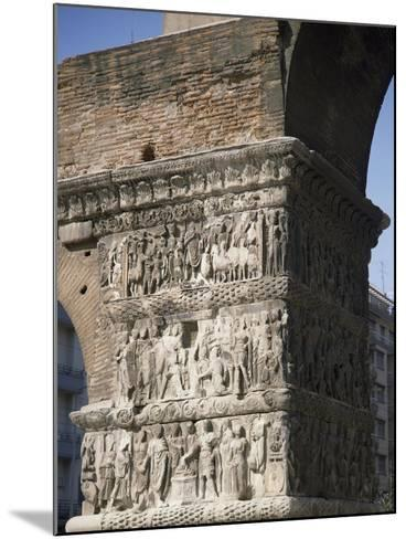 Reliefs Celebrating the Victories of Emperor Galerius Valerius Maximus over the Persians in 303--Mounted Giclee Print