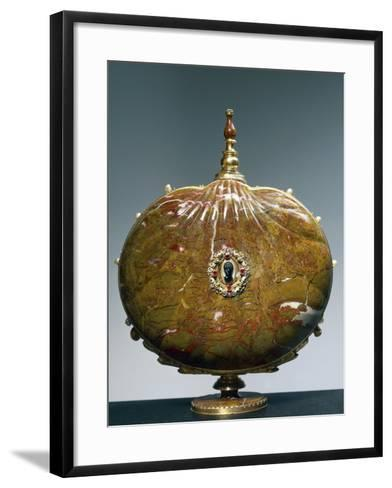 Flask Once Belonging to Catherine De Medici with Medallion Depicting Moor's Head--Framed Art Print