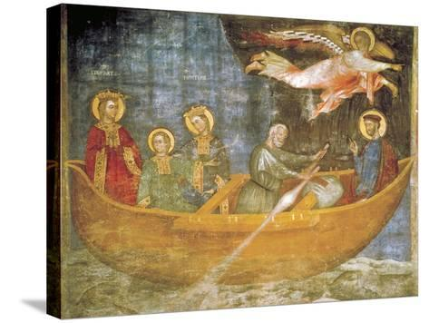 Journey of Saints Liberata and Faustina--Stretched Canvas Print