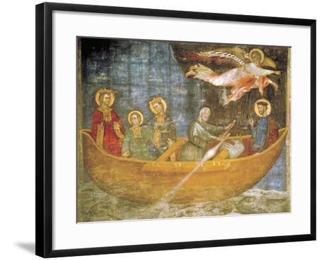Journey of Saints Liberata and Faustina--Framed Art Print