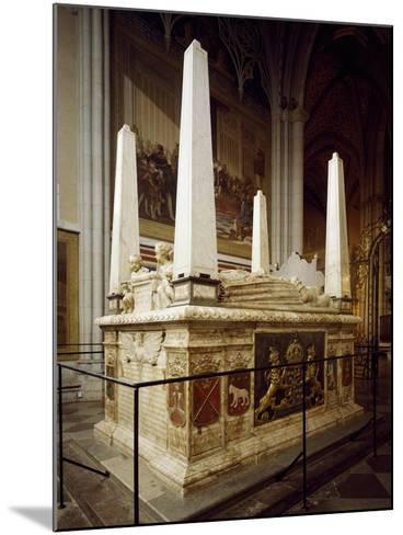 Grave Monument for Gustav Vasa and His First Wives Catherine of Lauenburg--Mounted Giclee Print