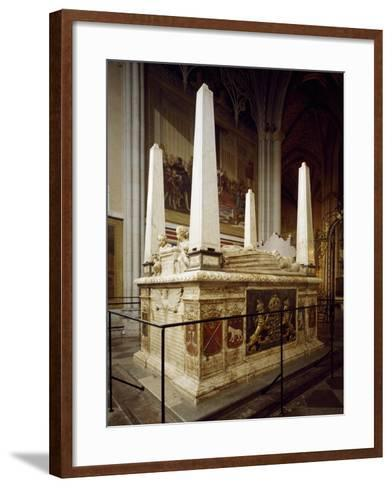 Grave Monument for Gustav Vasa and His First Wives Catherine of Lauenburg--Framed Art Print