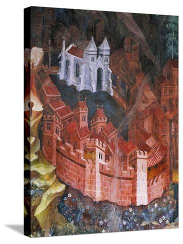 Walled City--Stretched Canvas Print