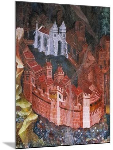 Walled City--Mounted Giclee Print