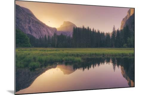 Magical Morning Light at Half Dome - Yosemite Valley-Vincent James-Mounted Photographic Print