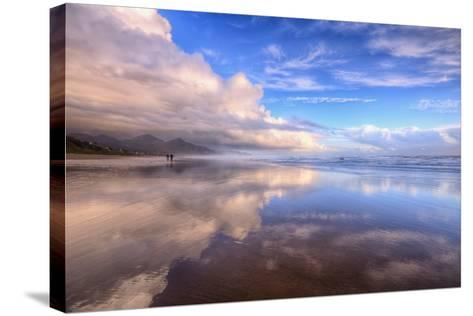 Beach Cloud Walk, Cannon Beach, Oregon Coast-Vincent James-Stretched Canvas Print