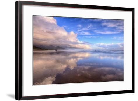 Beach Cloud Walk, Cannon Beach, Oregon Coast-Vincent James-Framed Art Print
