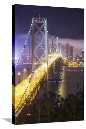 Road Into The City, Bay Bridge - San Francisco-Vincent James-Stretched Canvas Print