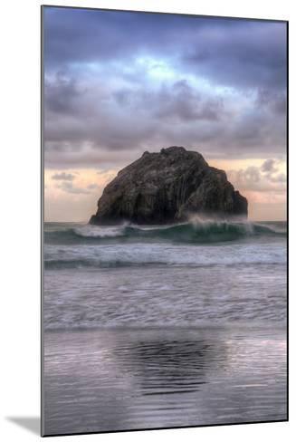Sunset at Face Rock, Bandon, Oregon Coast-Vincent James-Mounted Photographic Print