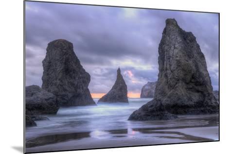 Ethereal Bandon Seascape, Oregon Coast-Vincent James-Mounted Photographic Print
