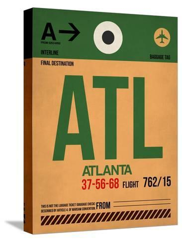 ATL Atlanta Luggage Tag 1-NaxArt-Stretched Canvas Print