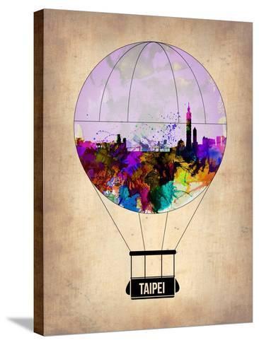 Taipei Air Balloon-NaxArt-Stretched Canvas Print