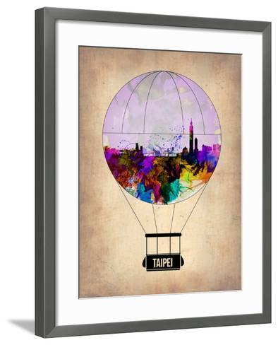 Taipei Air Balloon-NaxArt-Framed Art Print