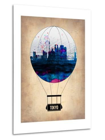 Tokyo Air Balloon-NaxArt-Metal Print