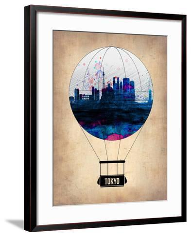 Tokyo Air Balloon-NaxArt-Framed Art Print