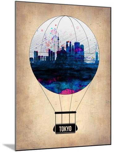 Tokyo Air Balloon-NaxArt-Mounted Art Print