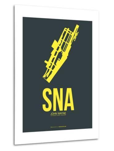 SNA John Wayne Poster 3-NaxArt-Metal Print
