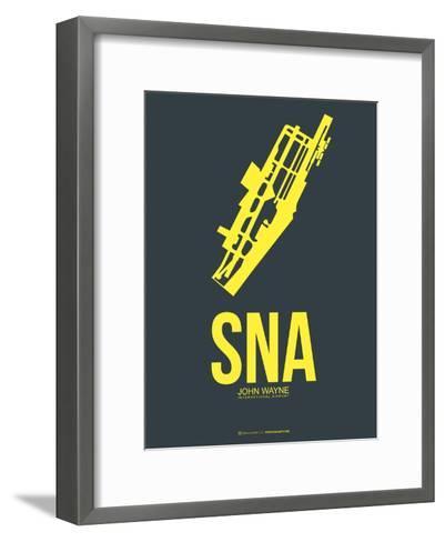 SNA John Wayne Poster 3-NaxArt-Framed Art Print