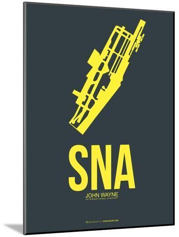 SNA John Wayne Poster 3-NaxArt-Mounted Art Print