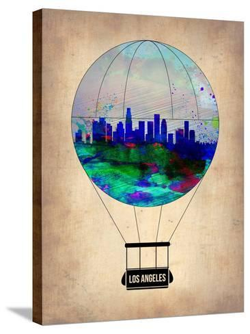 Los Angeles Air Balloon-NaxArt-Stretched Canvas Print