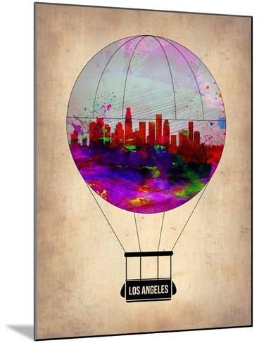 Los Angeles Air Balloon 2-NaxArt-Mounted Art Print