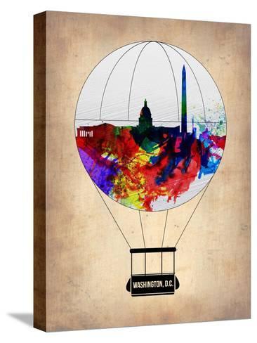Washington, D.C. Air Balloon-NaxArt-Stretched Canvas Print