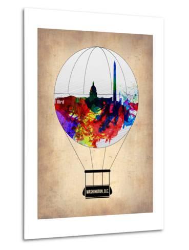 Washington, D.C. Air Balloon-NaxArt-Metal Print