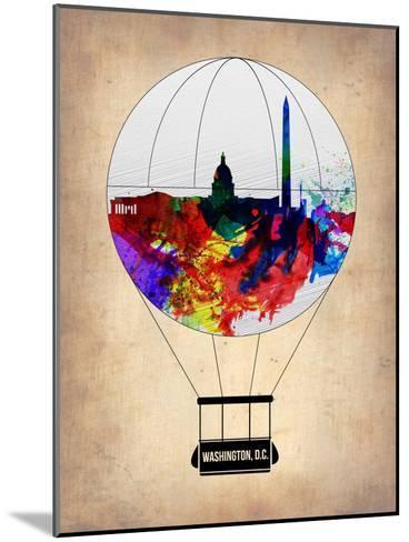 Washington, D.C. Air Balloon-NaxArt-Mounted Art Print