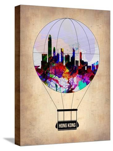 Hong Kong Air Balloon-NaxArt-Stretched Canvas Print